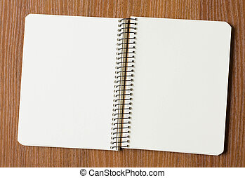 Note Pad - Notepad on the table