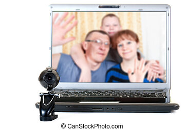 Family speaks on the video communications