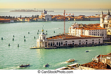 Beautiful water street - Gulf of Venice, Italy - Gulf of...