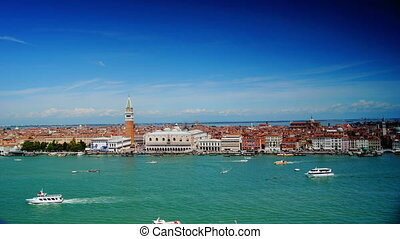 panorama with San Marco,Venice