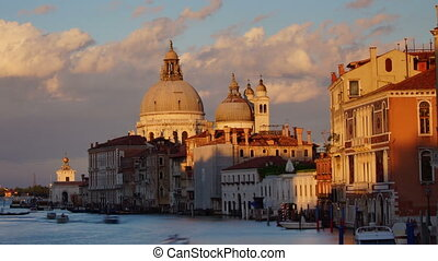 Sunset with Salute Church,Venice - Some attractions of...