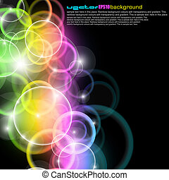 Abstract Colorful Business Background for Flyers