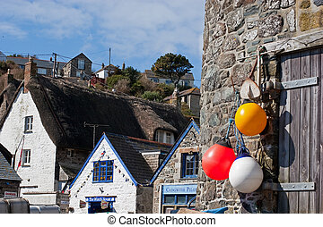 Cadgwith Fishing Village Cornwall