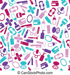 drugstore seamless pattern