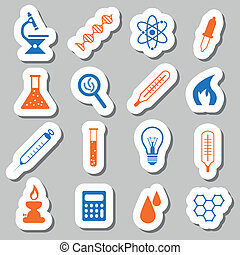laboratory stickers