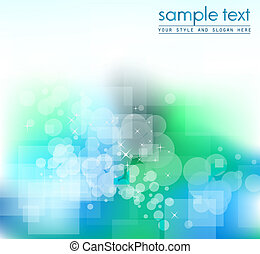Abstract Colorful Business Bachground for flyers - Delicate...
