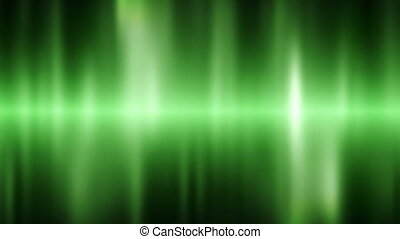 Green light background loop