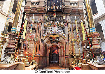 Church of the Holy Sepulcher in Jerusalem Beautifully...