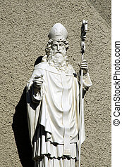St. Paul - Marble statue of St. Paul.