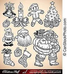 Christmas Stuff - Various Design Elements - Set 1