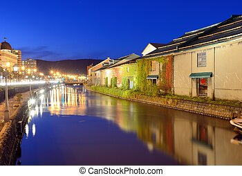 Otaru Canals of Japan - Historic Otaru Canals in Otaru,...