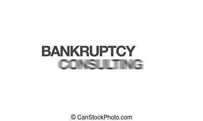 Bankruptcy Consulting - Animated Bankruptcy Consulting Word...