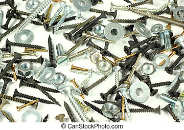 Screws, bolts and screw nuts