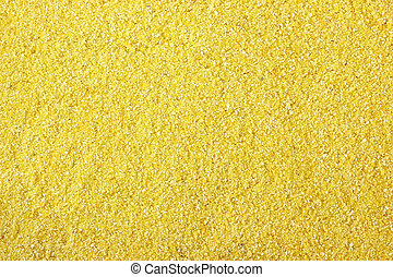Cornmeal flour made from dried maize