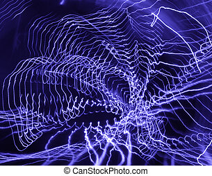 Abstract light painting - Scrapbook - Abstract light...