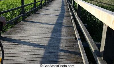bicicle pass bridge