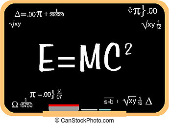 Albert Einstein physical formula
