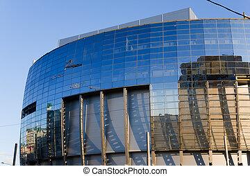 Modern commercial center