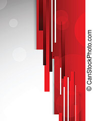 Abstract red background Bright illustration