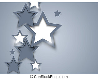Background with stars. Abstract illustration