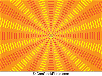 Vector Rays - Circus background - Vector image for various...