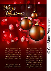 Suggestive Elegant Christmas Backgrounds with Stunning...