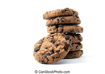 cookie isolated on white background - sweet cookies isolated...