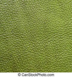 verde, couro, textura, fundo