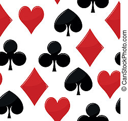 poker seed seamless pattern - illustration of poker seed...