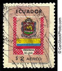 coat of arms of Loja province in Ecuador - Ecuador - CIRCA...