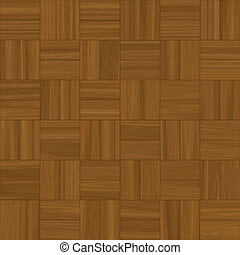 parquet flooring - illustration of square pattern parquet...