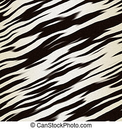 zebra hide - illustration of zebra hide for use as...