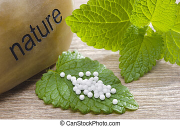 alternative medicine with herbal pills