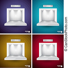 Box  for Your Product with LED spotlights