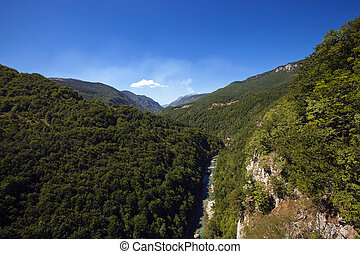 canyons - the canyons located in the territory of...