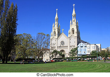 Sts Peter and Paul Church in San Frascisco - USA - Sts Peter...