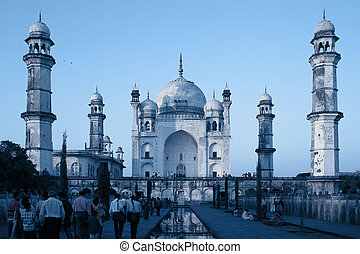 "Bibi-Ka Maqbara, also called \""Little Taj Mahal\\\"", a..."
