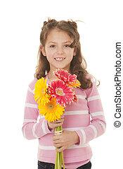 kid gift of flowers