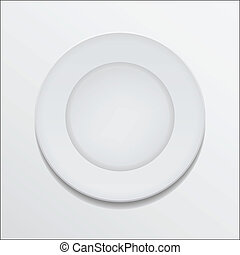 Empty plate Clipart Ve...