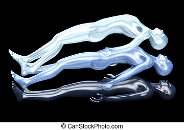 Astral Projection - 3d rendered Illustration Astral...