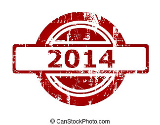 2014 red stamp