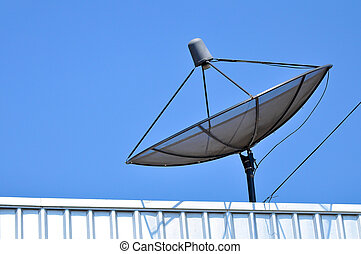 Satellite dish - A satellite dish is parabolic antenna...