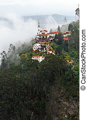 Aeriel View of Monserrate Church - Aeriel view of Monserrate...