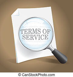 Reviewing Terms of Service - Taking a closer look at Terms...