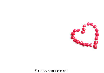 candy heart isolated (more similar images in my portfolio)
