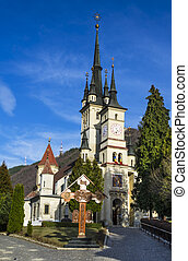 St Nicholas Church in Schei, Brasov, Romania - Saint...