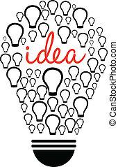Smart Thinking - Illustration Of Smart Thinking On White...