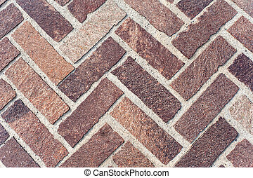 Herringbone Brick Pavers useful for backgrounds