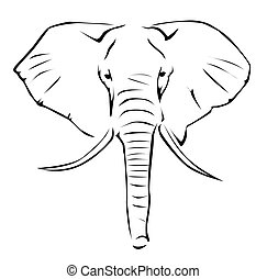 Elephant Stock Illustration Images. 27,950 Elephant ...