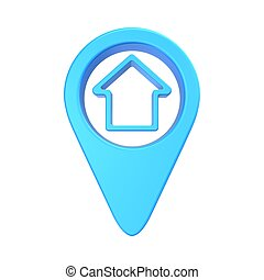 pointer location at home